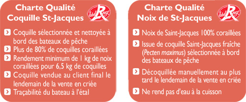 Charte Coquille Saint-Jacques Label Rouge