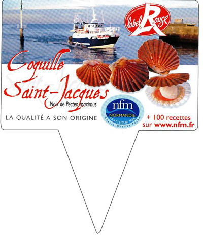 Noix Saint Jacques Normandie Label Rouge Pique-Prix