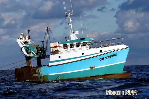 bateau de peche trouville