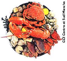 Plateau Fruits de Mer Granvillais