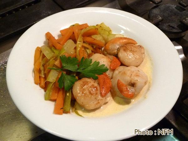 Et si on cuisinait conseils et recettes de cuisine - Saint jacques au curry ...
