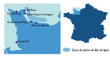 Carte Bar Ligne Normandie