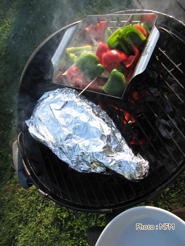 Dorade citron estragon au barbecue 2