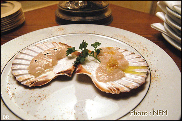 Recette Coquille Saint-Jacques marinee